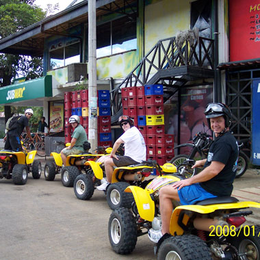 ATV & Buggy Rentals in Panama.