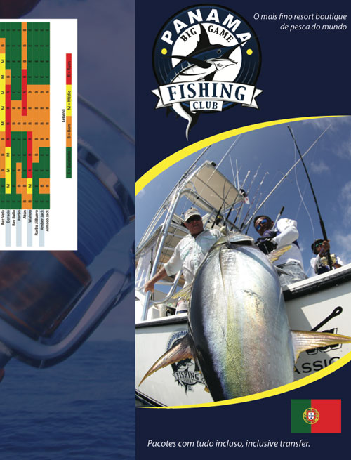 Panama Big Game Fishing Brochure Portugese
