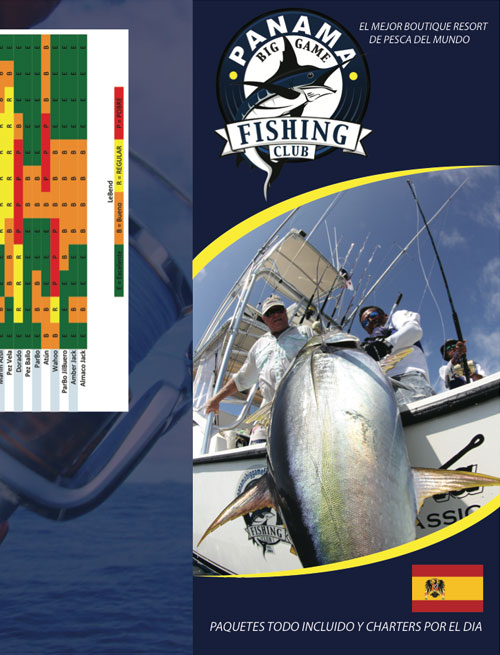 Panama Big Game Fishing Brochure Spanish