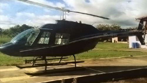 Helicopter transportation in Panama