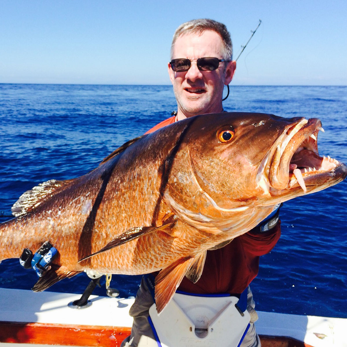 Cubera Snapper caught in Panama.