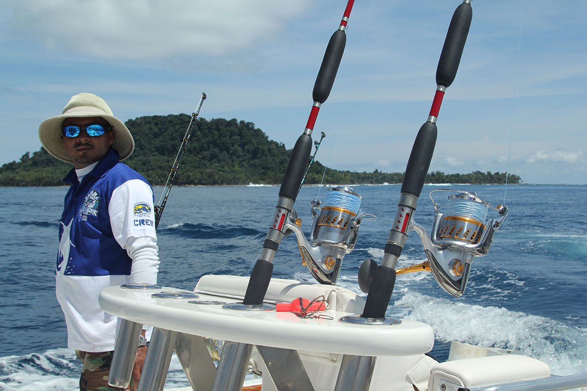 Fishing Rods and Lures for Panama Big Game Fishing