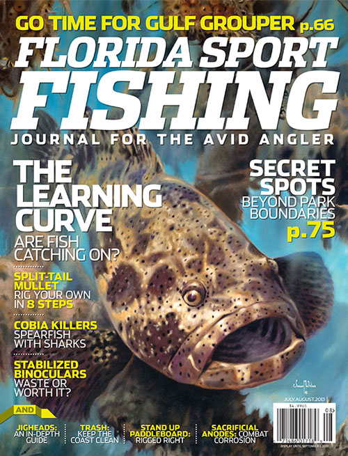 Florida Sport Fishing Magazine Article about Panama Big Game Fishing.
