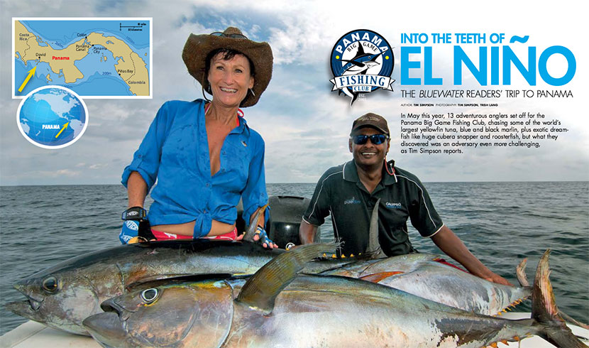 BlueWater Magazines 2015 readers trip to Panama Big Game Club