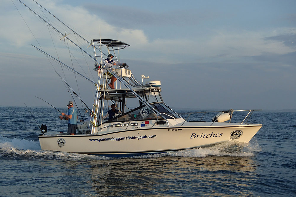 Panama Big Game Fishing Boats Btiches