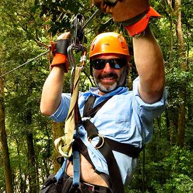 Zipline in Panama